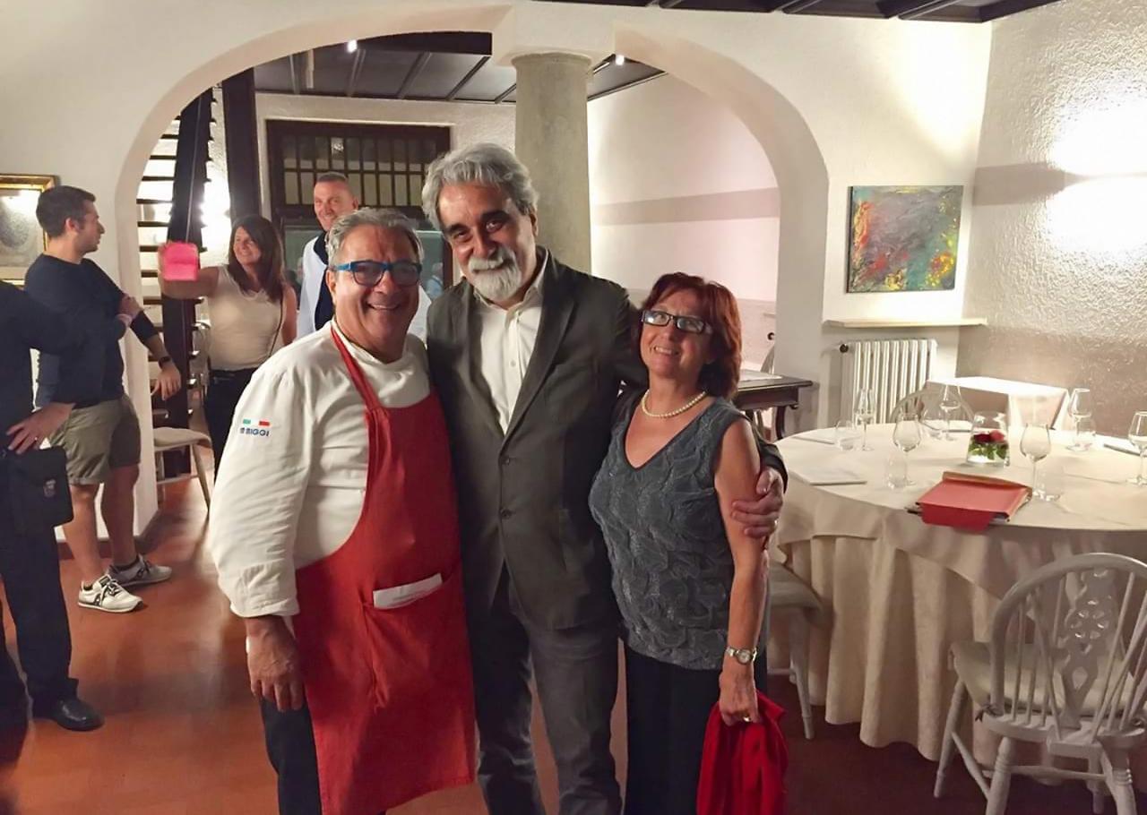 Il Maestro Beppe Vessicchio e il cuoco Beppe Sardi
