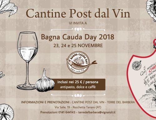 Bagna Cauda Day 2018 alle Cantine Post dal Vin