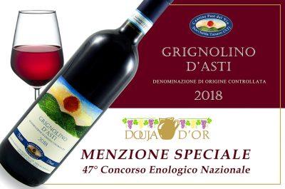Grignolino d'Asti 2018 - Menzione speciale 47° Douja d'Or