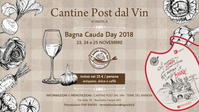 Bagna Cauda Day 2018 Cantine post dal Vin